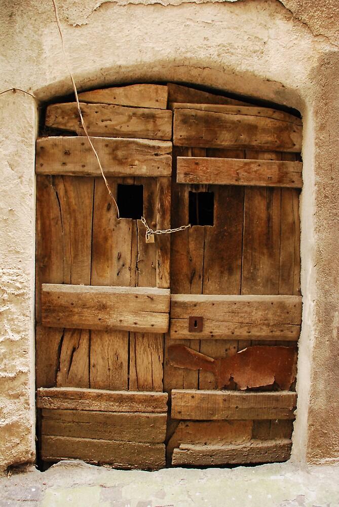 Old Wooden Door by jojobob