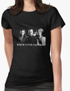 Who's Your Captain? Womens Fitted T-Shirt