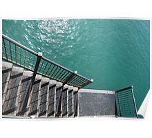 Pier Steps  Poster