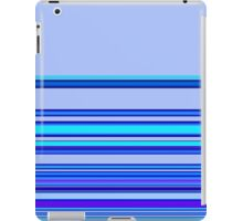 Blue Violet Ribbon iPad Case/Skin