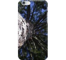 Windy Day - The Blue & The Green 005 iPhone Case/Skin