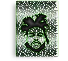 Weeknd'er Canvas Print