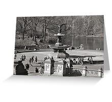 Bethesda Terrace at Central Park,  New York City Greeting Card