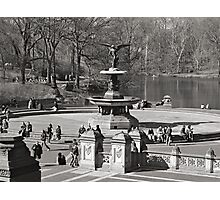 Bethesda Terrace at Central Park,  New York City Photographic Print