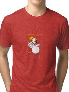 Somebunny Loves You! Tri-blend T-Shirt