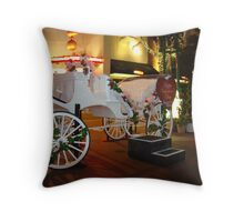 Valentine Carriage Throw Pillow