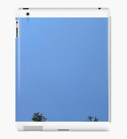 Windy Day - The Blue & The Green 018 iPad Case/Skin
