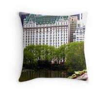 The Plaza Hotel, New York City Throw Pillow