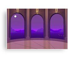 3 Doorways Canvas Print