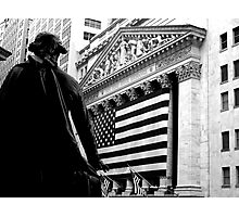 The New York Stock Exchange Photographic Print