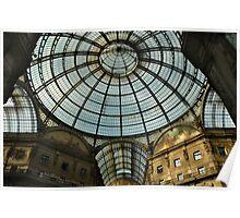 GALLERIA VITTORIO EMANUELE II, MILAN, ITALY Poster
