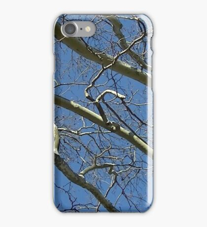 Windy Day - The Blue & The Green 033 iPhone Case/Skin