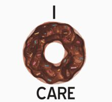 I Donut Care One Piece - Long Sleeve