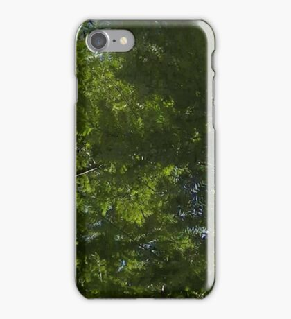 Windy Day - The Blue & The Green 036 iPhone Case/Skin