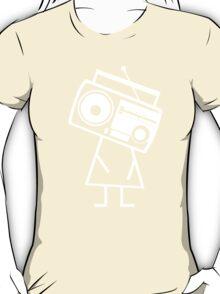 RADIO-FACE (White) T-Shirt