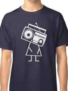 RADIO-FACE (White) Classic T-Shirt