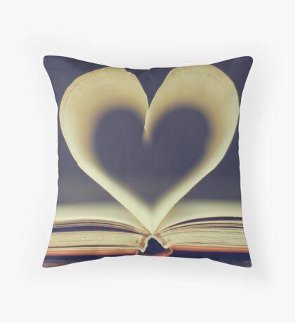 Love Poems Throw Pillow