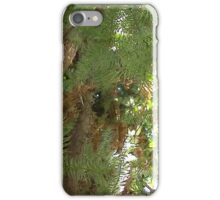 Windy Day - The Blue & The Green 040 iPhone Case/Skin
