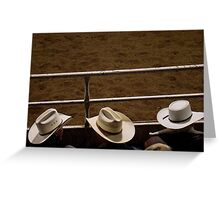 Rodeo Boys Greeting Card