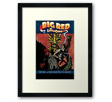 Hellboy/Big Trouble in Little China Mashup Framed Print