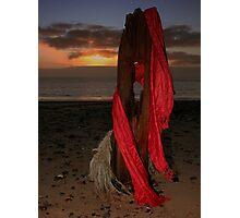 Sunrise at Spurn Head Photographic Print