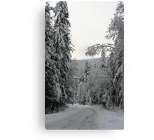 """Road To The Ridge"" Canvas Print"