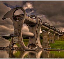 Falkirk Wheel by dittohead