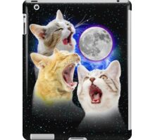 Exclusive Three Cat Moon Design! iPad Case/Skin