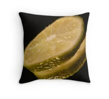 Slice reflection Throw Pillow