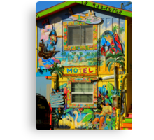 Motel In Paradise ~ Part Two Canvas Print