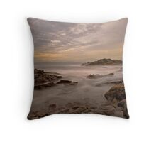 Here comes the tide Throw Pillow