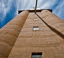 Grain Silo - Nhill, Wimmera by Mark German