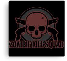 Zombie Kill Squad Canvas Print