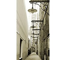 Rush Street Alley, Chicago Photographic Print