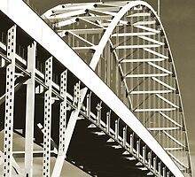 Fremont Bridge, Portland, Oregon by Jaymes Williams