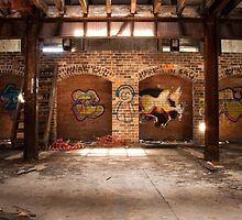 Abandoned Mittagong Maltings by Adara Rosalie