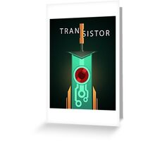 The Transistor  Greeting Card