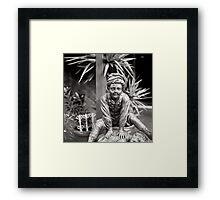 LEAP FROG Framed Print