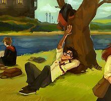 Hogwarts Days by beyondthepines