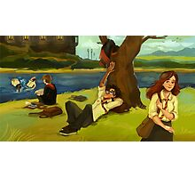 Hogwarts Days Photographic Print
