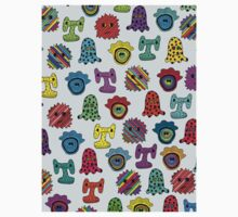 pattern with monsters Kids Clothes