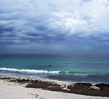 Indigo Sky Beach by Brita Lee