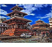 Durbar Square, Kathmandu, Nepal Photographic Print