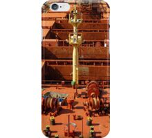 Deck of Gypsum Integrity, Falmouth Docks iPhone Case/Skin