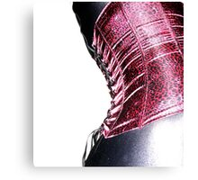 corset curve Canvas Print