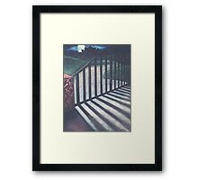 VAMPIRE ON THE HILL Framed Print