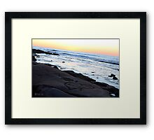 Love in the earth Framed Print