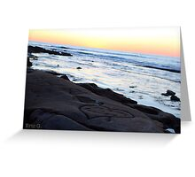 Love in the earth Greeting Card