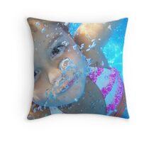"""""""Bubble's"""" Throw Pillow"""
