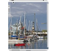 Falmouth Harbour and Docks iPad Case/Skin